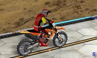 Сложные трюки на мотоцикле