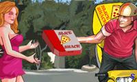 Калифорния: доставка пиццы