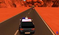 Полицейская машина: погоня в пустыне