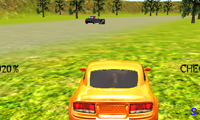 Погоня за полицейской машиной