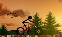 Стикмен: горная трасса для велосипедов