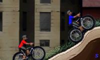 Гонка для мальчиков на горных велосипедах