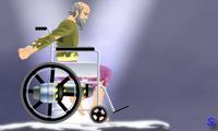 Езда на инвалидной коляске
