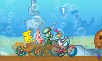 Гонки под водой Спанч Боба