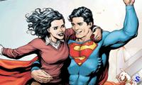 Супермен спасает девушку