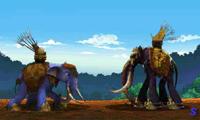 Драка слонов