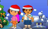 Дора и Диего: Рождественские подарки
