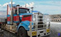 Гонка на грузовиках с прицепом