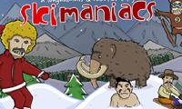 Лыжные маньяки: катание, трюки и прыжки
