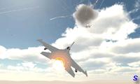 Полет на военном современном самолете