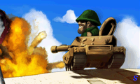 Мультяшный танк