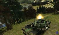 Металлическая кавалерия - танковый бой